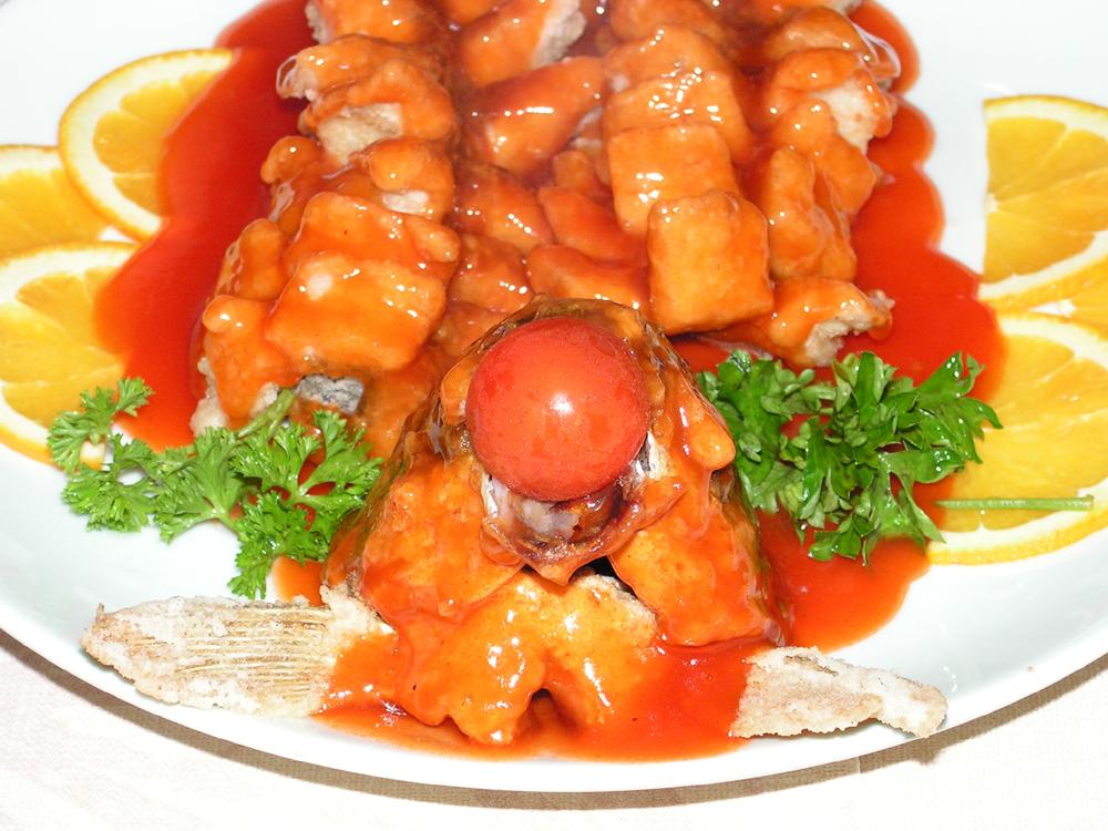 входит горбуша в кисло сладком соусе рецепт с фото виду